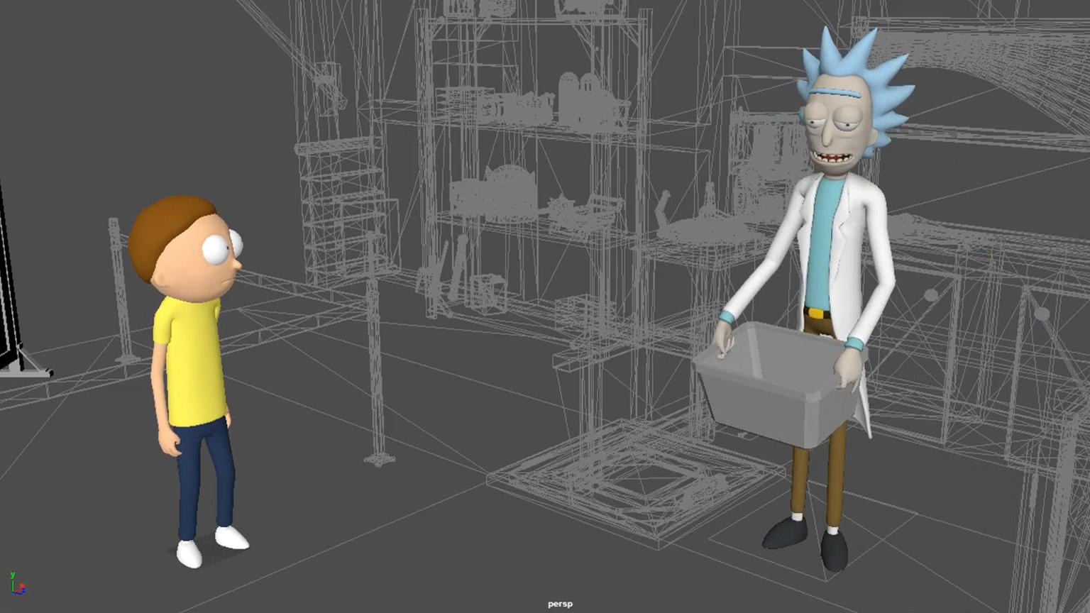 Virtual Rick Ality A Vr Game Made With Unity