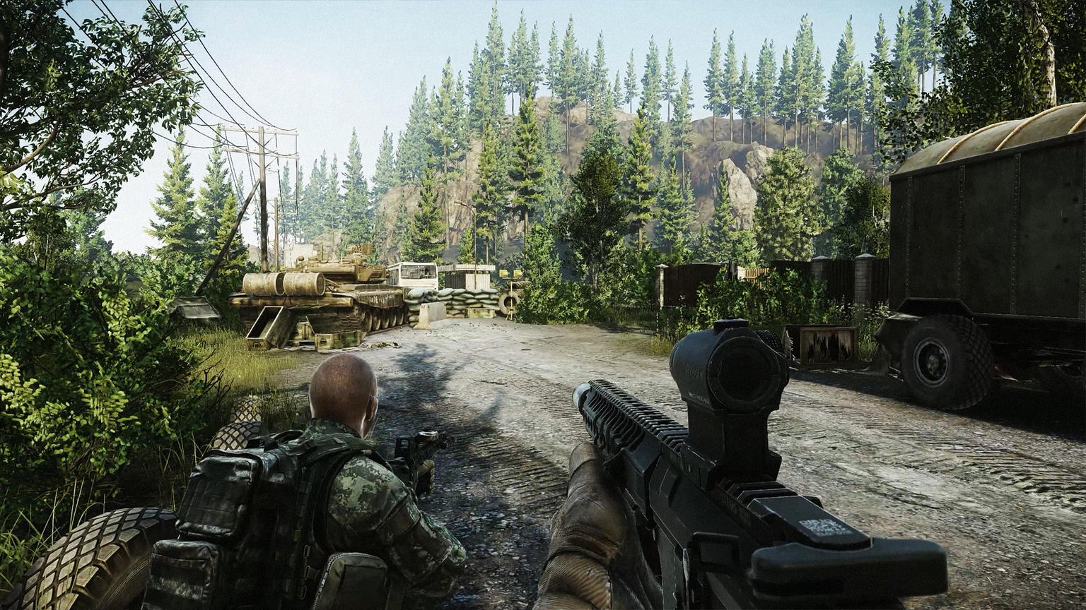 Escape from Tarkov by Battlestate Games - A shooter | Made with Unity