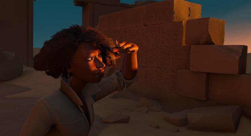 As with Firewatch, character development is central to In the Valley of Gods