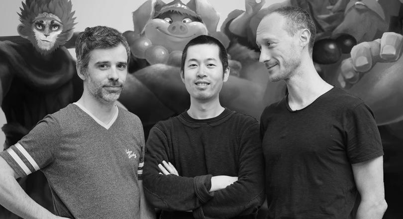 Founders Bruno Gentile, Lu Yang and Nicolas Leger
