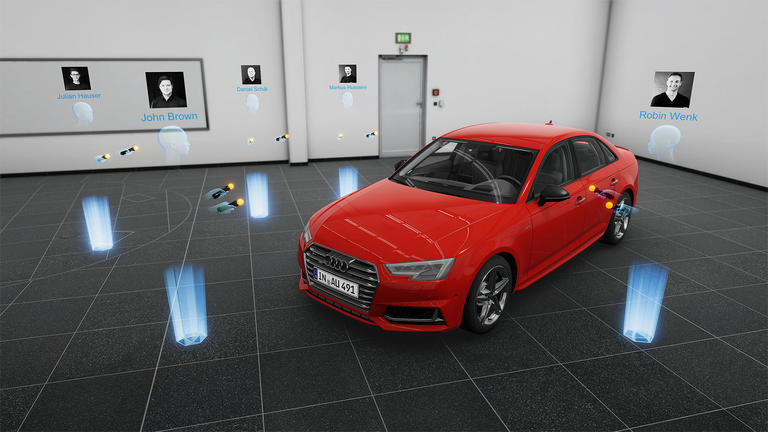 Audi Engineering Holodeck by Lightshape