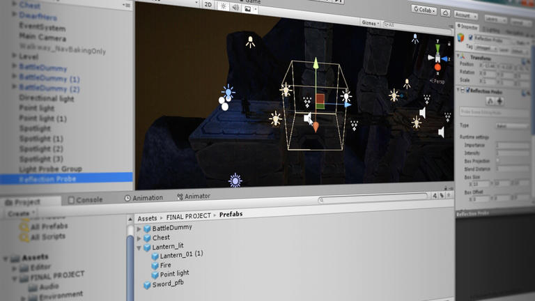 Unity Game Dev Courses: Swords and Shovels | Unity