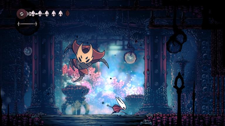 Hollow Knight: Silksong by Team Cherry, Made with Unity
