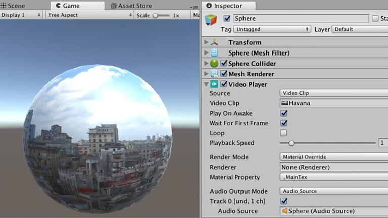 Unity-VR-AR-Corner-Native-video-playback