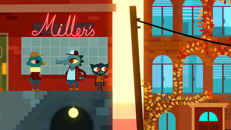 Made with Unity – Night in the Woods by Finji