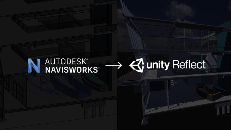 Plug-in do Autodesk Navisworks para Unity Reflect