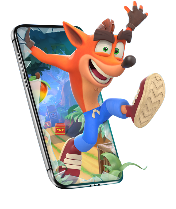 Crash Bandicoot: On the Run! by King