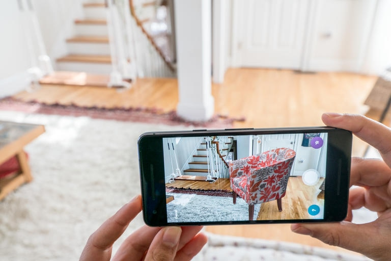 Wayfair uses AR to let users visualize what furniture would look like in their homes before purchasing it.