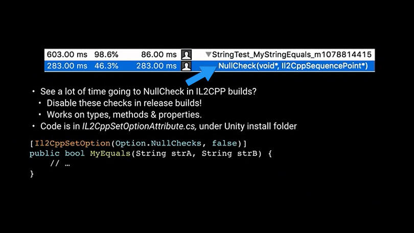 Unity-get the best performance from Unity-scripting
