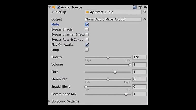 Unity-get the best performance from Unity-Audio settings