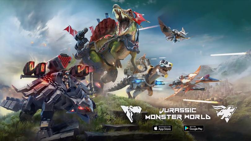 Azur Games Jurassic Monster World