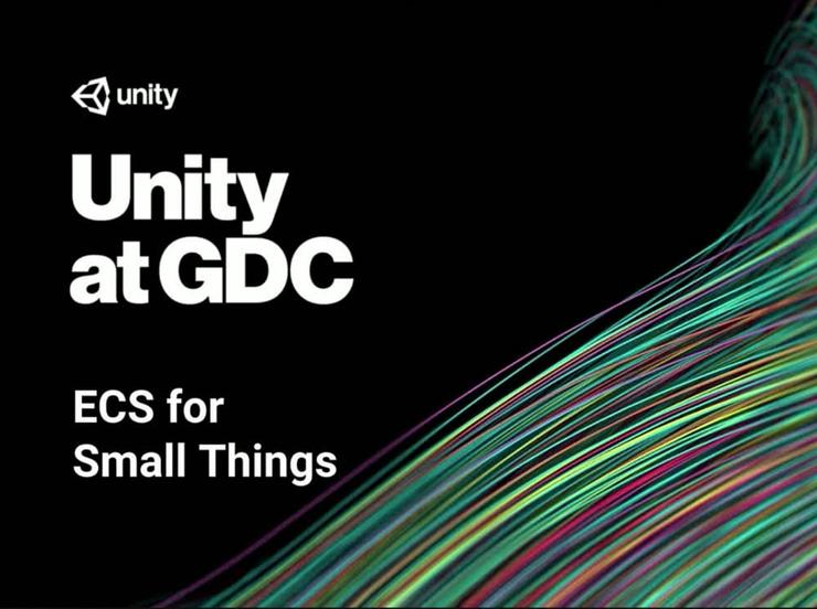 ECS for Small Things Session at GDC 2018