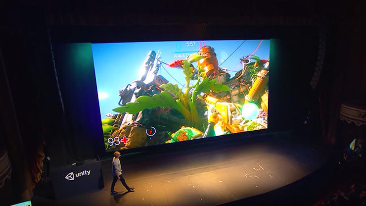 FPS Sample reveal - Unite LA 2018 Keynote