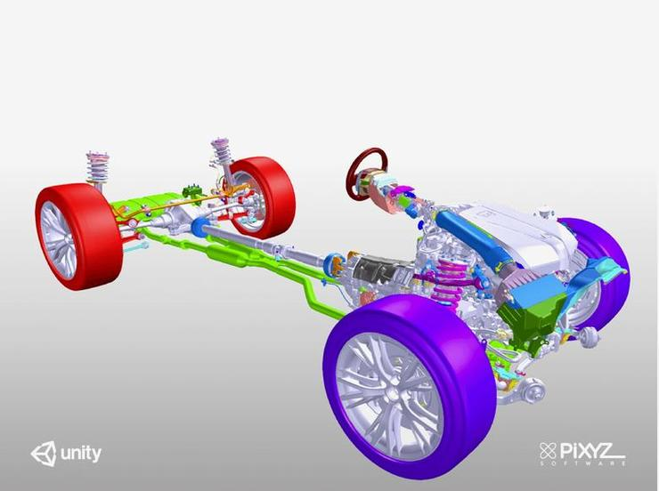 car design software car designing software 3d car 3d design online Unity Partners with PiXYZ Software to unlock CAD data for real-time  development