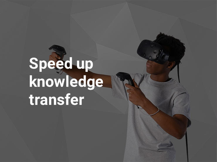 Speed up knowledge transfer