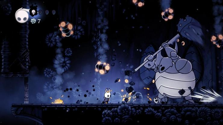 Team Cherry 制作の Hollow Knight、Made with Unity