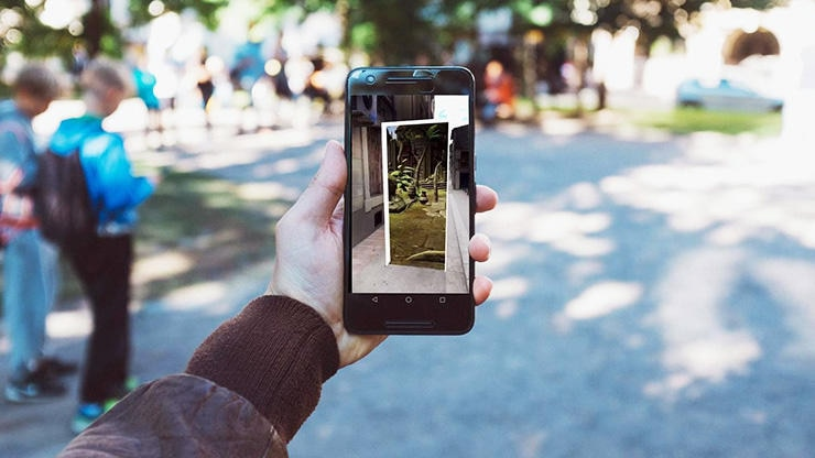 Mobile Augmented-Reality-App