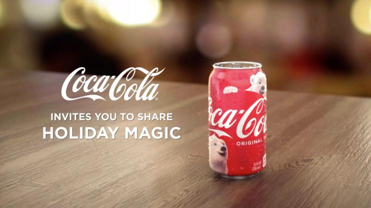 Coca Cola AR-enhanced product packaging developed by Tactic