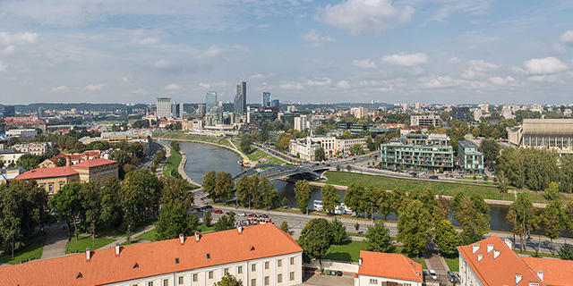 Vilnius Lithuania by Diliff