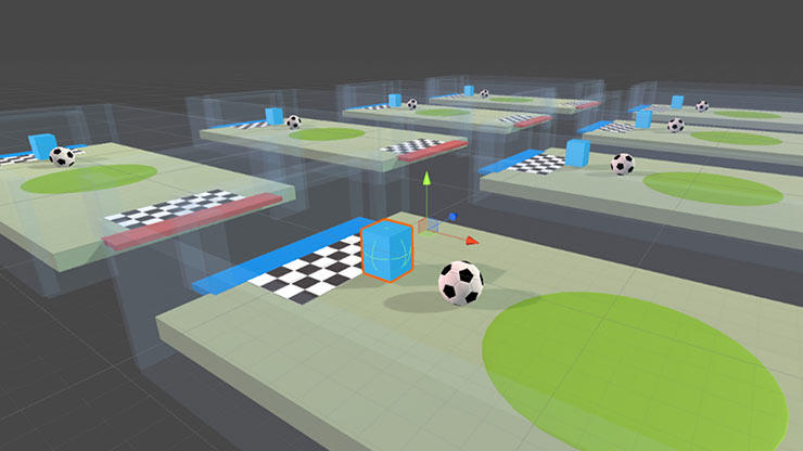 Reinforcement Learning environment